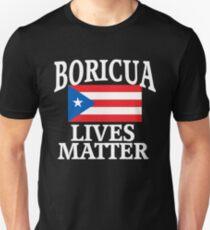 fb1835bcb Camiseta unisex BORICUA VIVE LA MATERIA Puerto Rico