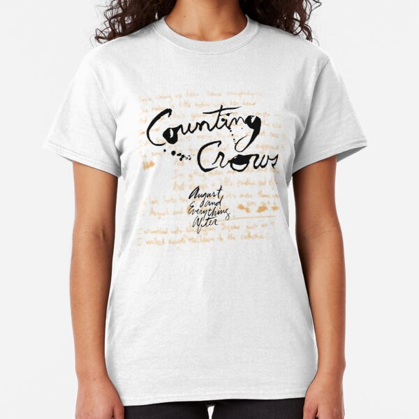 Counting Crows - August and Everything After Classic T-Shirt
