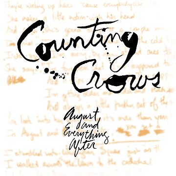 Counting Crows - August and Everything After by SiCtM