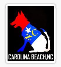NC DOG  (Carolina Beach, NC)  Sticker