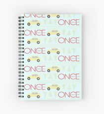 Once Upon a Time Christmas Spiral Notebook