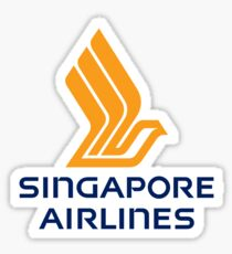 Singapore Airlines Sticker
