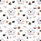 Gespenstisches Halloween-Muster von BekkaCampbell