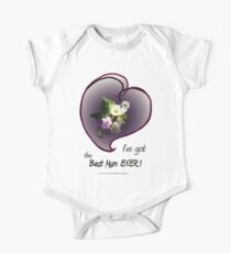 wildflower, Best Mum EVER! heart Kids Clothes