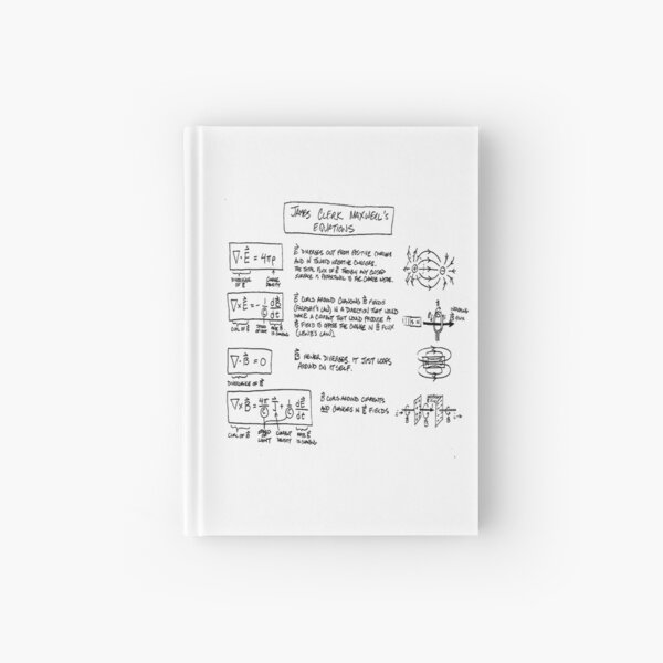 Maxwell's Equations [light] Hardcover Journal