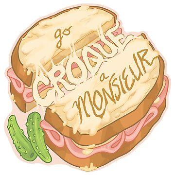 Go Croque a Monsieur by sephiramy