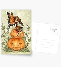 Halloween Fae Postcards