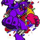 Halloween wild dog zombie by licographics