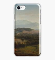 Louis Remy Mignot (1831-1870), Fishkill Mountains iPhone Case/Skin