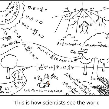 How scientists see the world [light] by Rheymisson