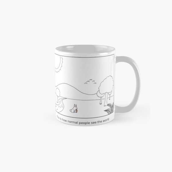 How scientists see the world [light] Classic Mug