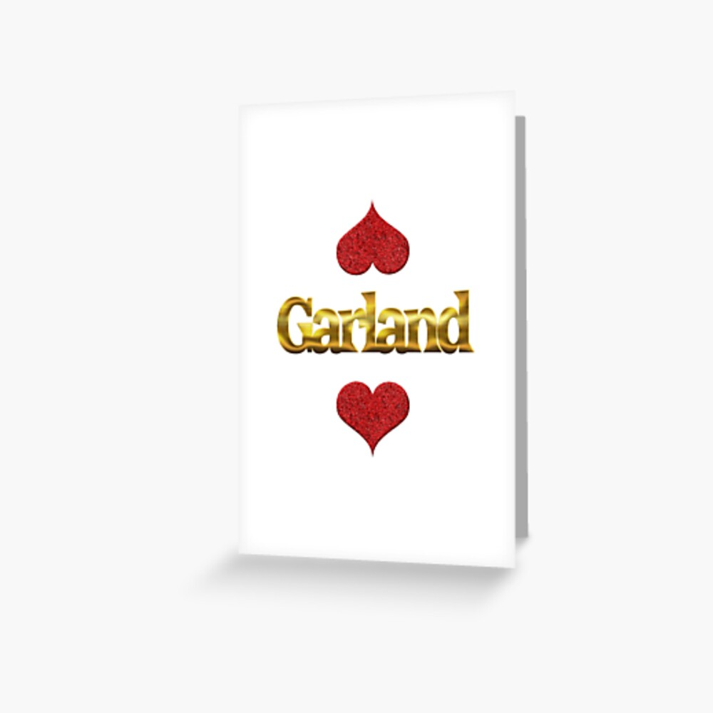 Garland Grußkarte