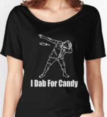 Zombie Dabbing Drawing Women's Relaxed Fit T-Shirt