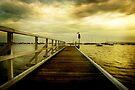 sorrento pier by Melinda Kerr