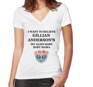 Gillian Anderson: Alien baby baby mama