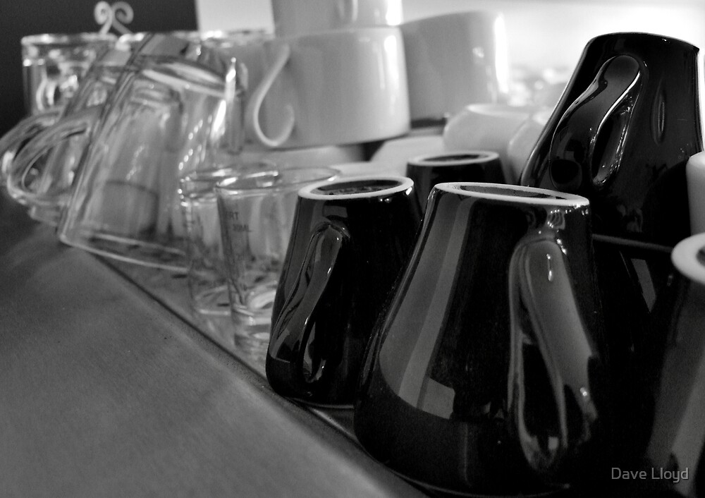 Lot's Of Cups ... by Dave Lloyd