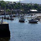 Caernarvon Harbour by Trevor Kersley