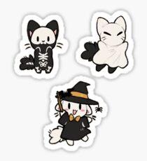 Spooky Kittens Sticker