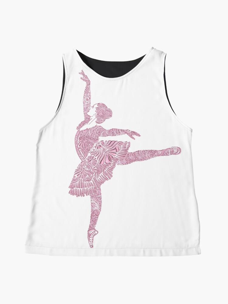 Alternate view of Ballet Dance - Designer Art Sleeveless Top