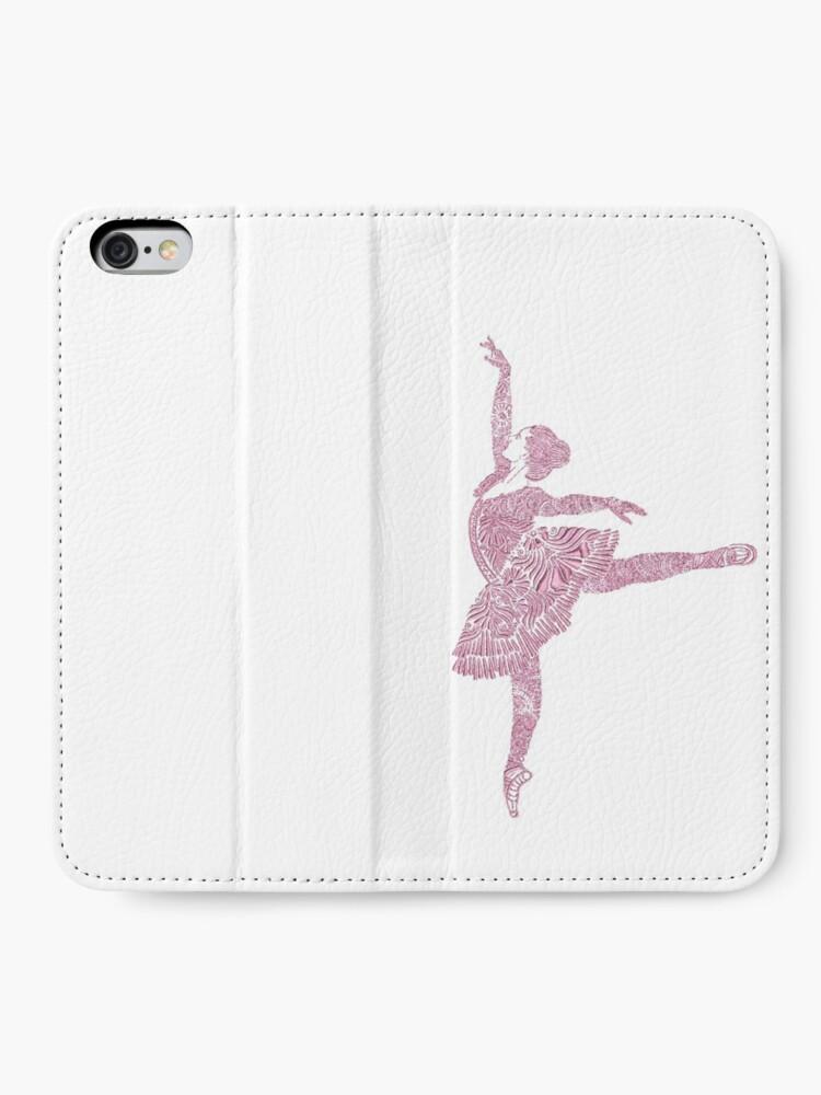 Alternate view of Ballet Dance - Designer Art iPhone Wallet