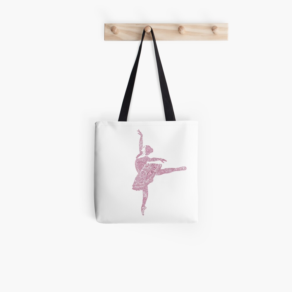 Ballet Dance - Designer Art Tote Bag