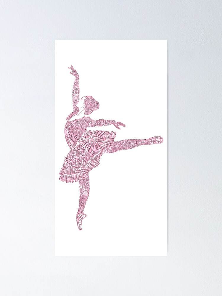 Alternate view of Ballet Dance - Designer Art Poster