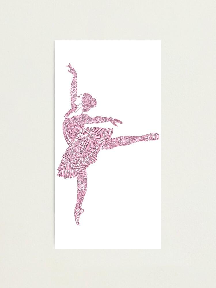 Alternate view of Ballet Dance - Designer Art Photographic Print