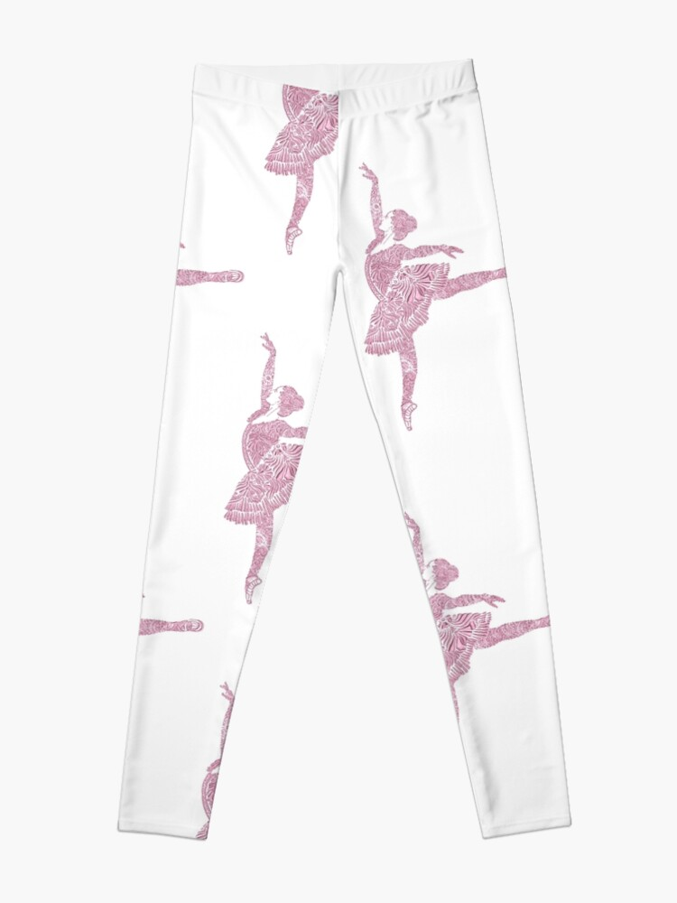 Alternate view of Ballet Dance - Designer Art Leggings
