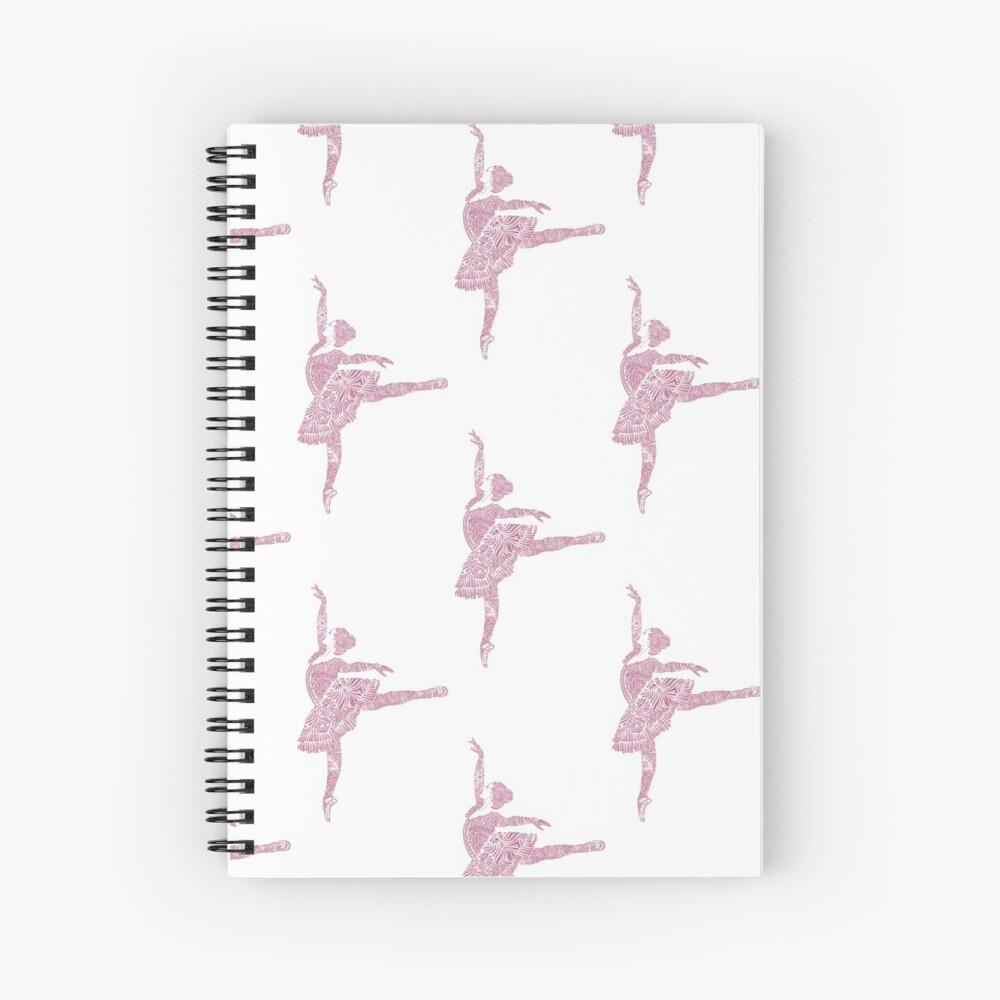 Ballet Dance - Designer Art Spiral Notebook