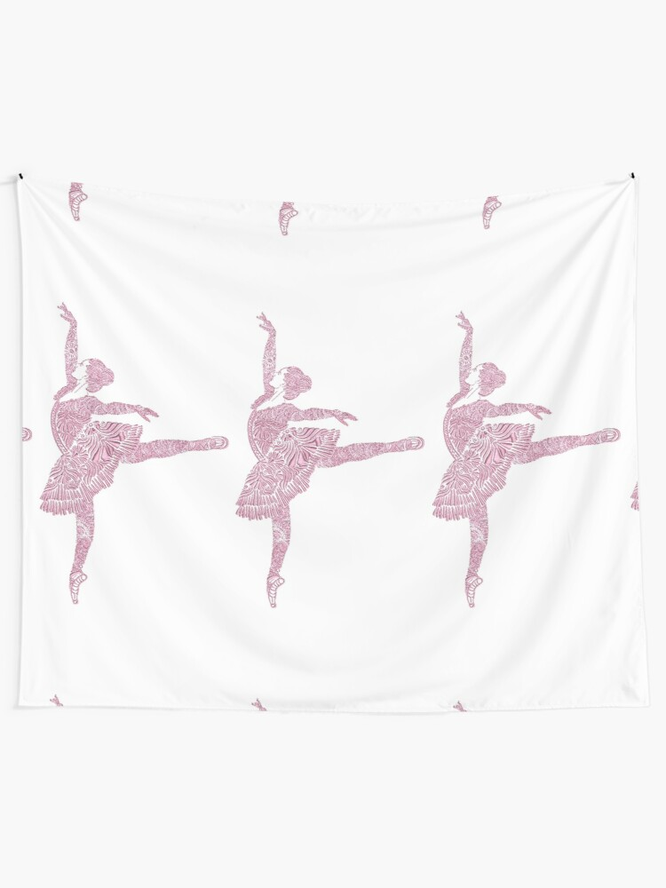 Alternate view of Ballet Dance - Designer Art Tapestry