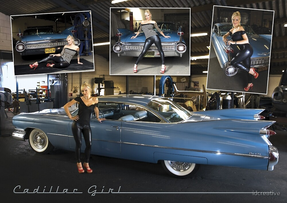 cadillac girl by idcreative
