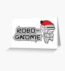 Robo-Gnome Greeting Card