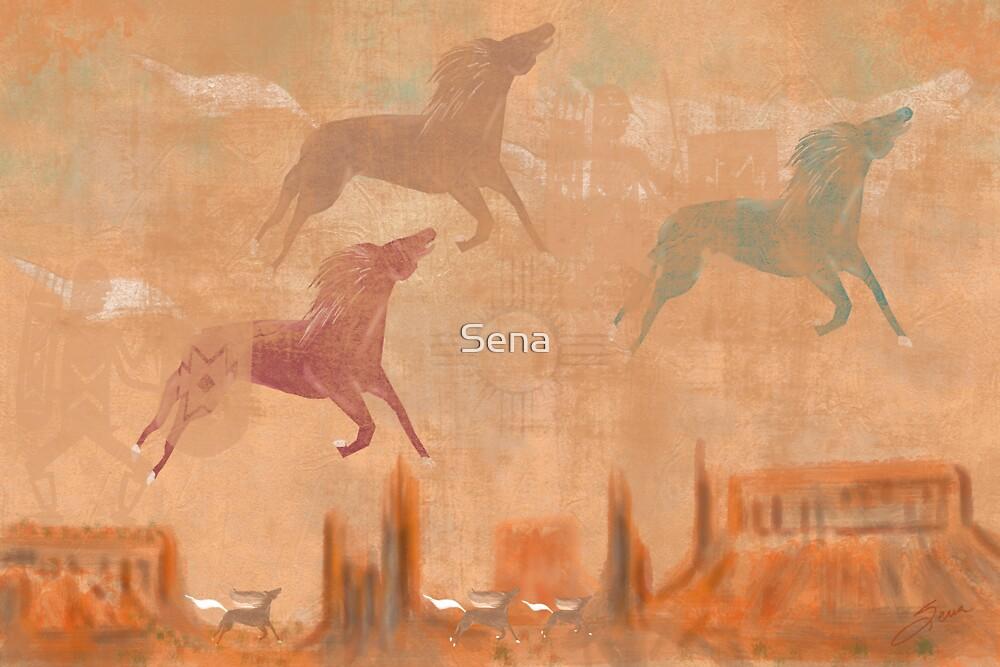 Spirit Horse Mesa by Sena