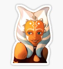Star Wars   Ahsoka Tano Clone Wars   Snips Sticker