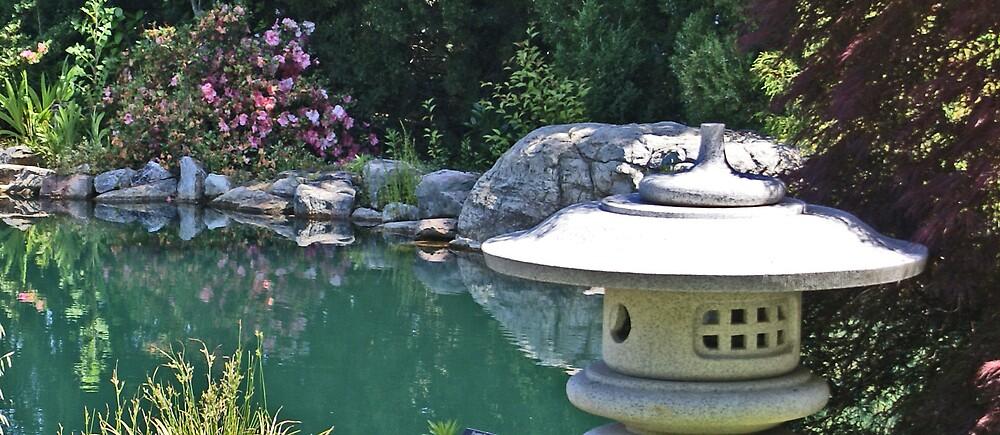 In the Garden by David W Kirk