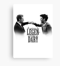 how i met your mother - LEGENDARY Canvas Print
