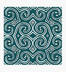Svortices (Ocean Blue) Photographic Print