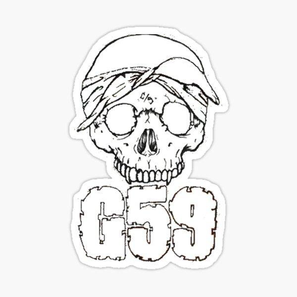 G 59  Sticker