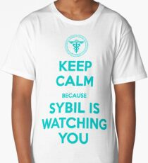 Psycho Pass | Keep Calm, Sybil is watching you Long T-Shirt