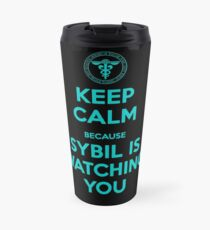 Psycho Pass | Keep Calm, Sybil is watching you Travel Mug