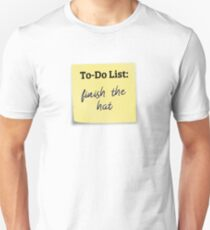 To-Do: Finish the hat T-Shirt