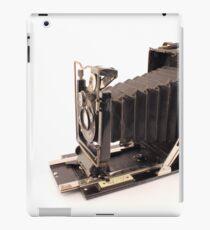 Old photography machine iPad Case/Skin