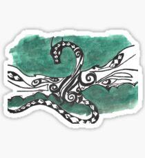 Dragon in flight  Sticker