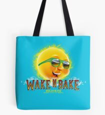Wake and bake II Tote Bag