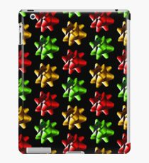 Present Bows - Green, Gold and Red iPad Case/Skin