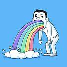 Rainbow Puke by zoljo