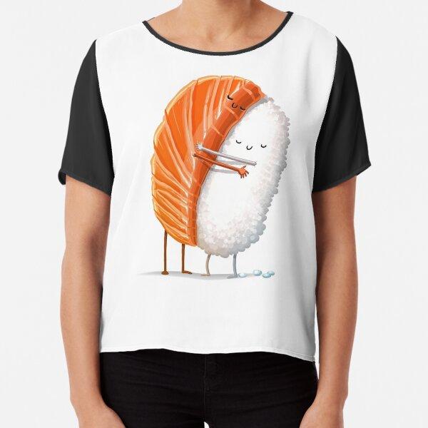 Sushi Hug Chiffon Top
