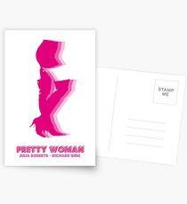 Pretty Woman elegant design Postales