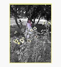 flower among flowers Photographic Print
