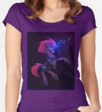 My Little Pony: The Movie - Tempest Shadow Women's Fitted Scoop T-Shirt